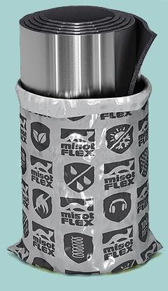 рулонная изоляция с алюминиевым покрытием MisotFlex